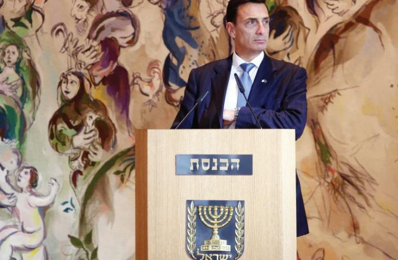 Matthew Bronfman (photo credit: MARC ISRAEL SELLEM/THE JERUSALEM POST)