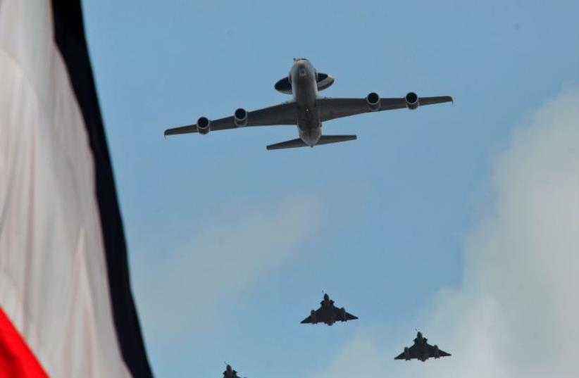 French Jet Fighters Prepare to Attack ISIS in Syria (photo credit: REUTERS)