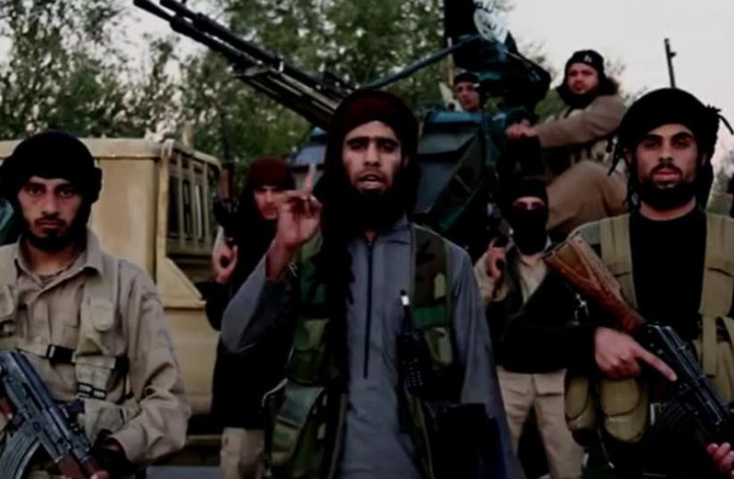 ISIS sets sites on Washington in new video (photo credit: ISLAMIC SOCIAL MEDIA)