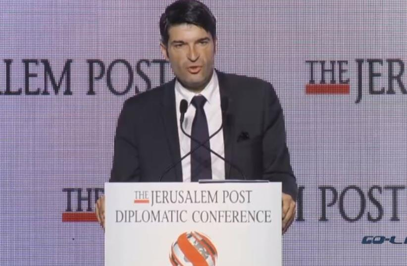 French Ambassador Patrick Maisonnave at the Jerusalem Post's Diplomatic Conference (photo credit: Courtesy)