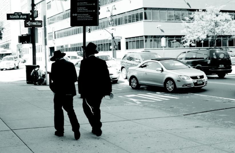 Juifs orthodoxes aux Etats-Unis (photo credit: DR)
