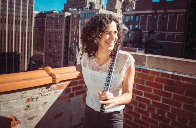 NEW YORK-based Israeli flutist Hadar Noiberg. (photo credit: Courtesy)