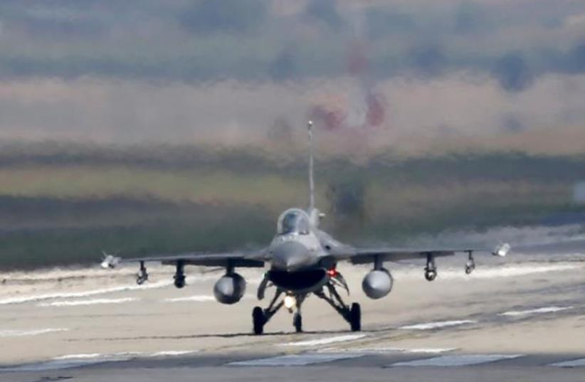 Turkish F-16 jet. (photo credit: REUTERS)