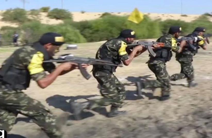 Al-Aksa Martyrs Brigades releases new promotional video (photo credit: ARAB MEDIA)