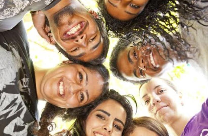 Bridging the gaps in the periphery through volunteering. (photo credit: Courtesy)