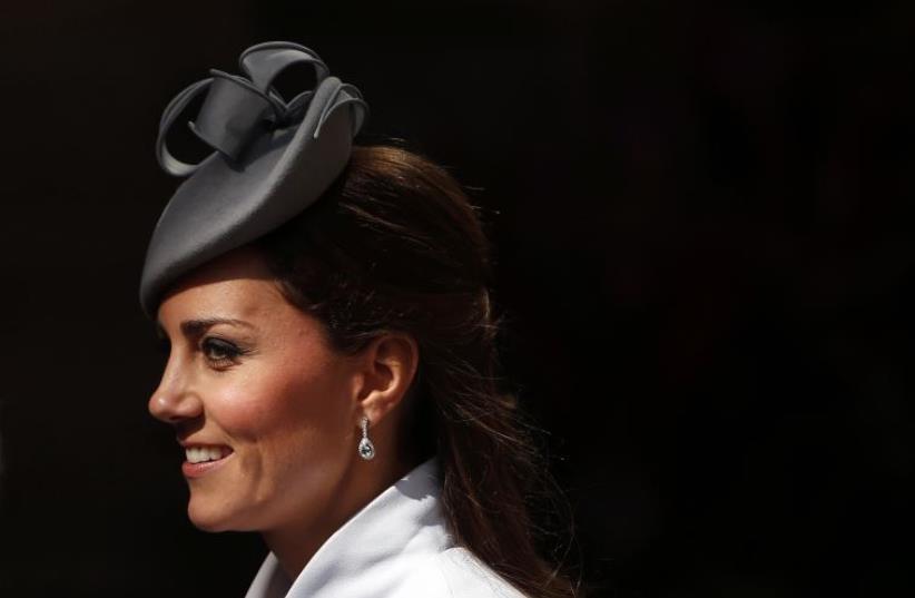 Catherine, the Duchess of Cambridge (photo credit: REUTERS)