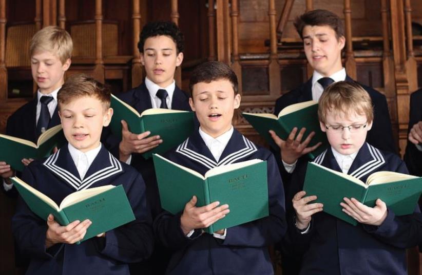 Gewandhaus Orchestra and the St. Thomas Boys Choir (Thomanerchor) (photo credit: PR)