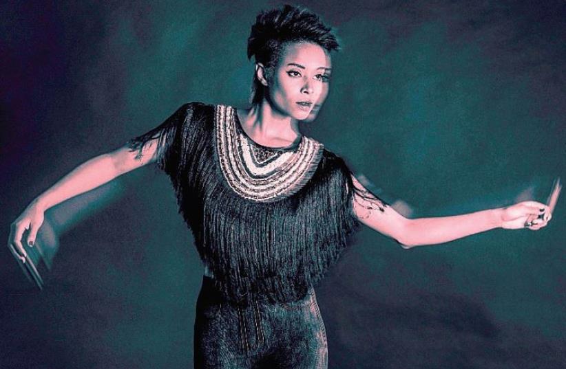 ISRAELI ETHIOPIAN singer Ester Rada. (photo credit: GABRIEL BAHARLIA)