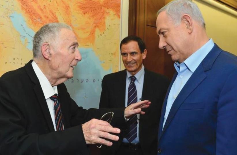 URI LUBRANI with Prime Minister Benjamin Netanyahu (photo credit: KOBI GIDEON/GPO)