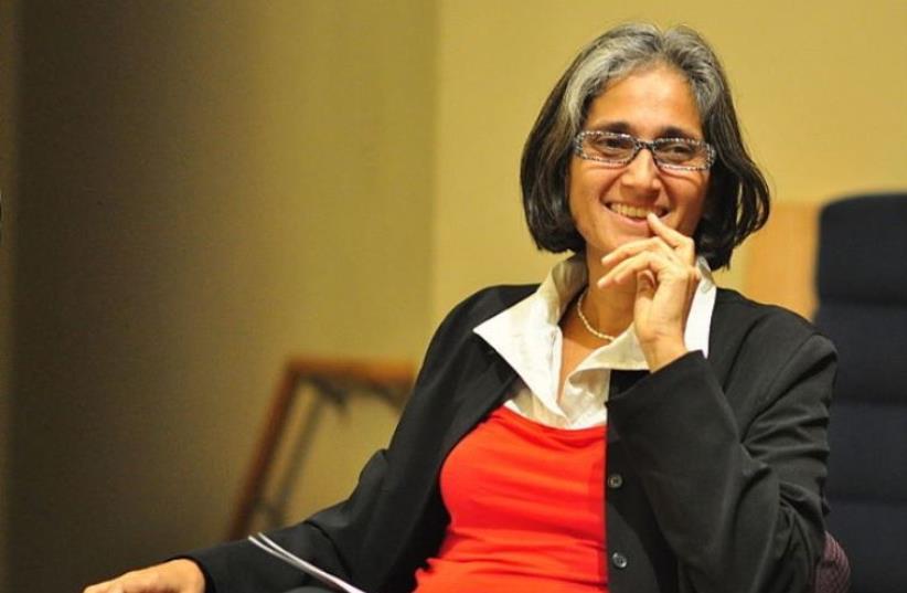 Sharon Abraham-Weiss, executive director of ACRI, 2015 (photo credit: JOE MABEL/WIKIMEDIA COMMONS)