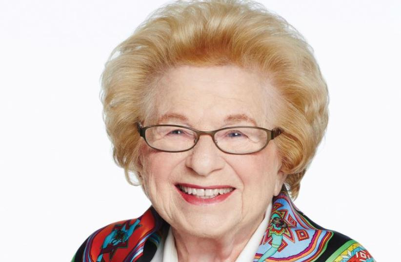 'I AM very Jewish... I was brought up in the Jewish tradition, and sex has never been a sin. Sex has always been a mitzva, and an obligation between husband and wife,' says Dr. Ruth Westheimer.  (photo credit: Courtesy)