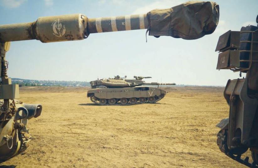 IDF tanks (photo credit: IDF SPOKESMAN'S UNIT)