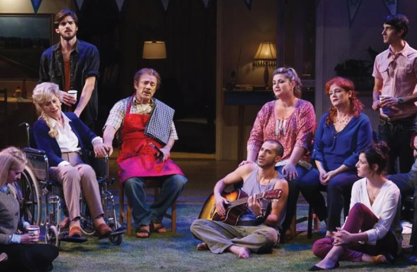 On the Grill play (photo credit: GADI DAGON)