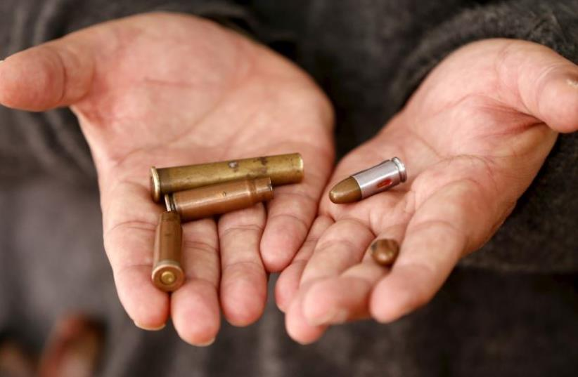 Bullets [file] (photo credit: REUTERS)