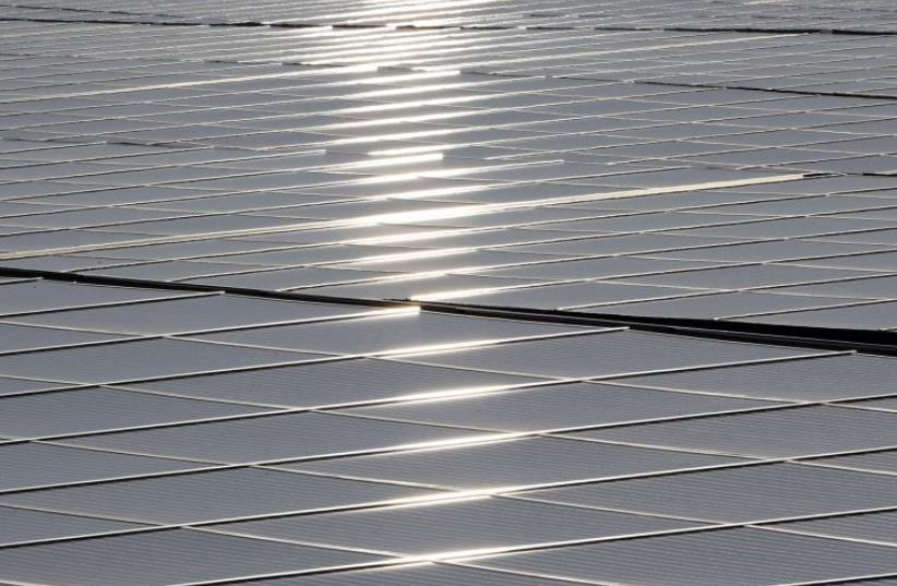Solar panels (photo credit: REUTERS)