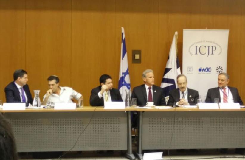 Jewish parliamentarians from around the world meet in Knesset (photo credit: LIA LANDS)