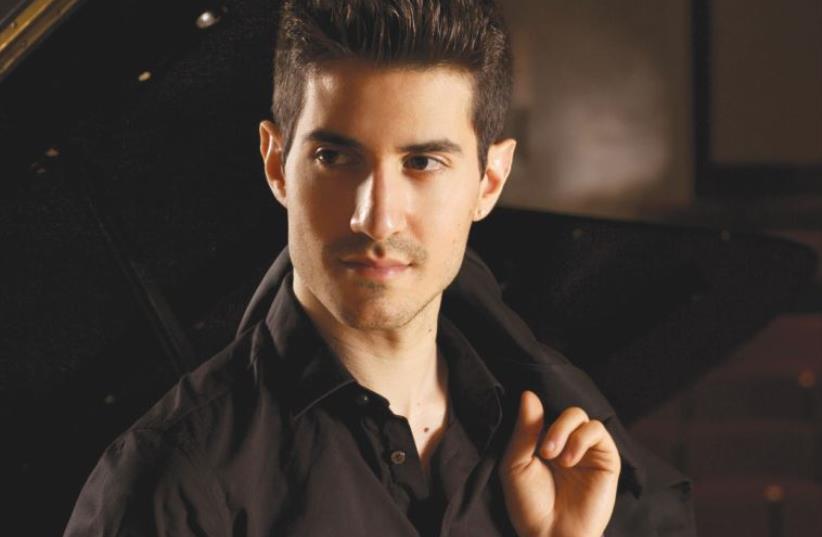 Pianist Andy Feldbau  (photo credit: LEON LE)