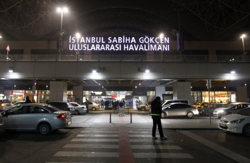 The Sabiha Gokcen Airport of Istanbul (photo credit: REUTERS)