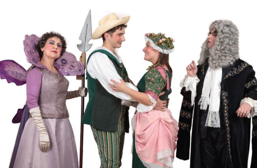 Gilbert and Sullivan's comic operetta Iolanthe (photo credit: PR)