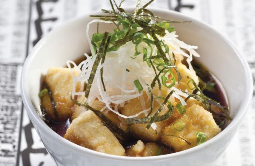 Agedashi tofu soup (photo credit: PR)