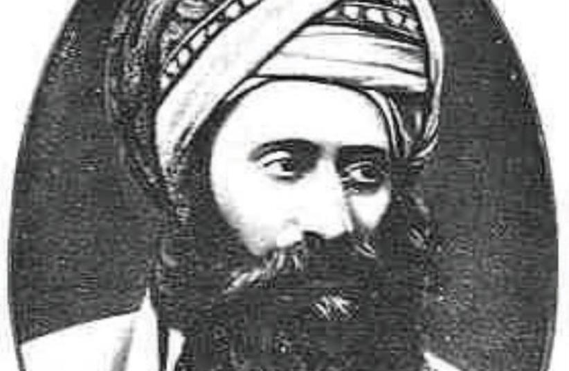 Master Kabbalist Rabbi Yosef Hayim, known as the Ben Ish Hai (photo credit: Wikimedia Commons)