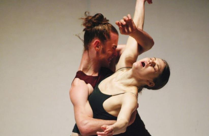 OHAD NAHARIN and Batsheva Dance Company's 'Three.' (photo credit: GADI DAGON)