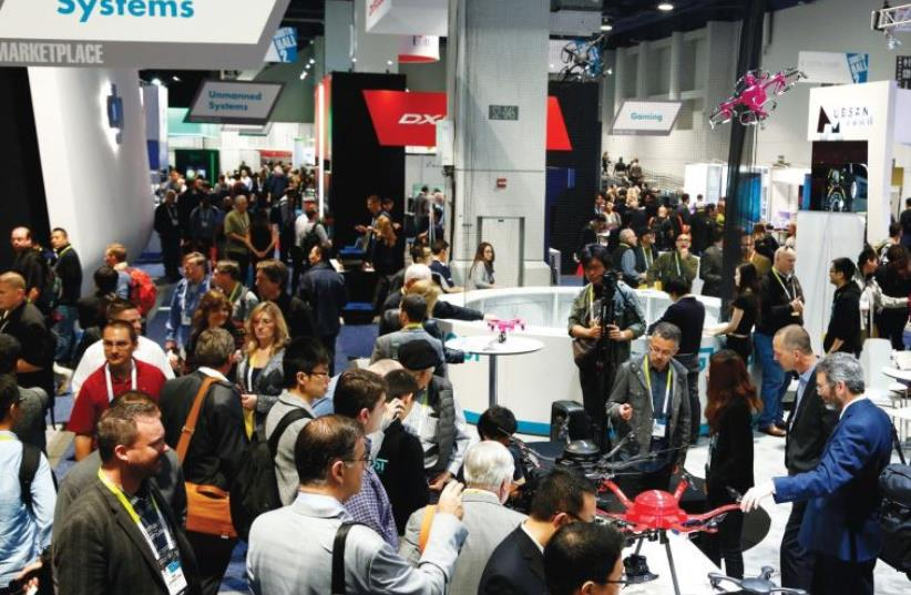 THE CONSUMER Electronics Show in Las Vegas is where industry professionals meet every January to showcase their new products or to network during conference programs and forge impromptu connections at the show's special events. (photo credit: Courtesy)