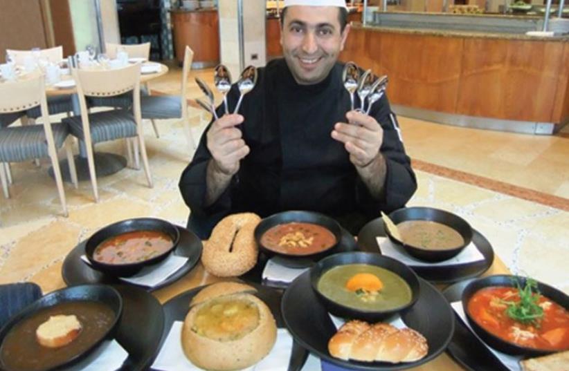 The Tel Aviv Hilton's restaurant (photo credit: PR)