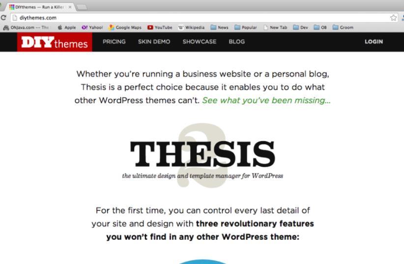 Diy Themes Thesis