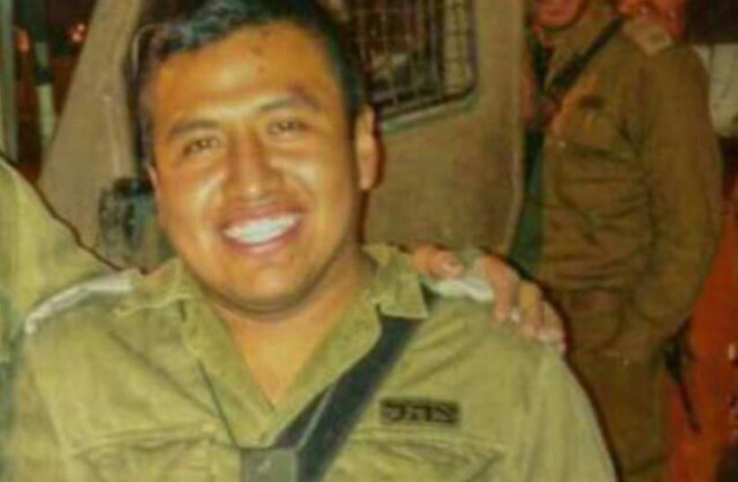 Capt. Yishai Rozales of the Netzach Yehuda Brigade (photo credit: Courtesy)