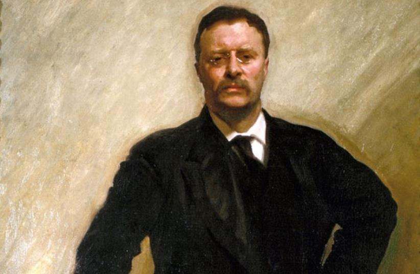 Official White House portrait by John Singer Sargent (photo credit: Wikimedia Commons)