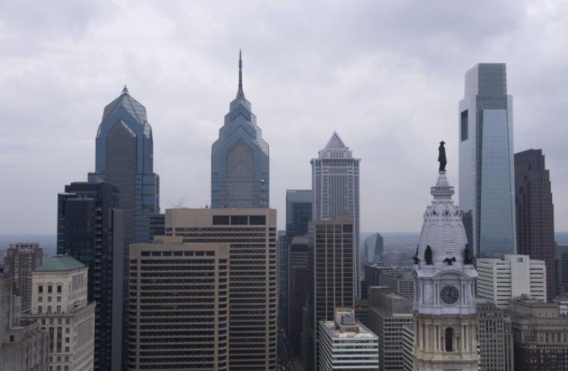 The downtown Philadelphia skyline  (photo credit: REUTERS)