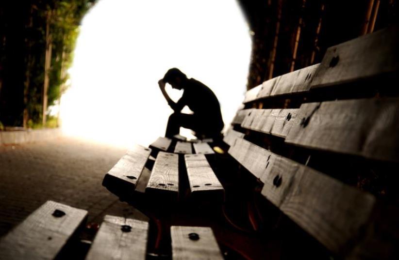 Teen depression (photo credit: INGIMAGE)