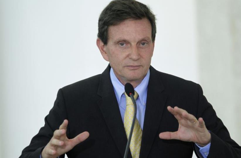 Brazilian Senator Marcelo Crivella (photo credit: REUTERS)