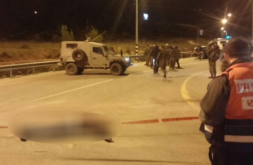 Three terrorist stopped at Gush Etzion Junction- Jan 7, 2016 (photo credit: GUSH ETZION REGIONAL COUNCIL)
