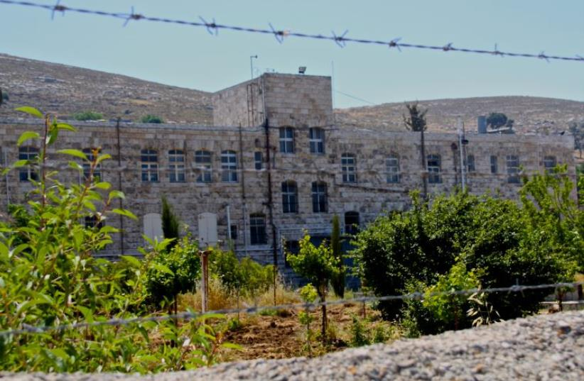 Settlers want to open a Jewish tourist center at this former tuberculosis hospital off of Route 60 in the West Bank (photo credit: TOVAH LAZAROFF)