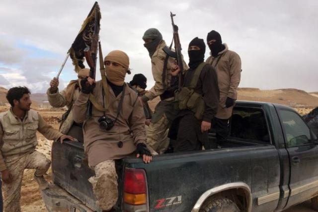 Al-Qaida militants. (photo credit: REUTERS)