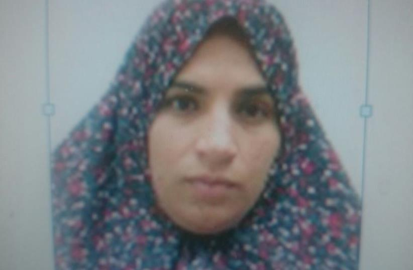 Photo released by police of young Arab woman planning attack in Nahariya (photo credit: COURTESY ISRAEL POLICE)