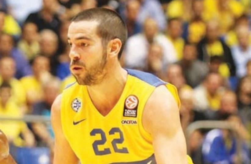 Maccabi TA guard Taylor Rochestie (photo credit: ADI AVISHAI)