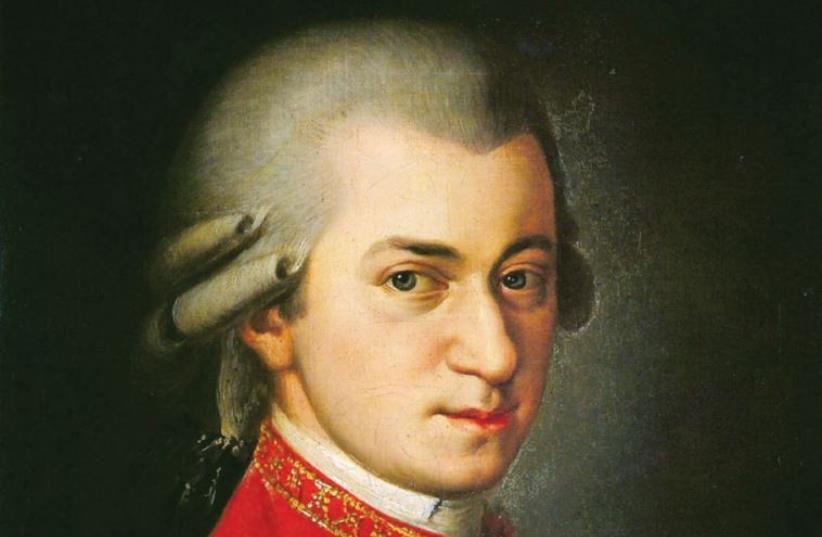 Wolfgang Amadeus Mozart (photo credit: Wikimedia Commons)