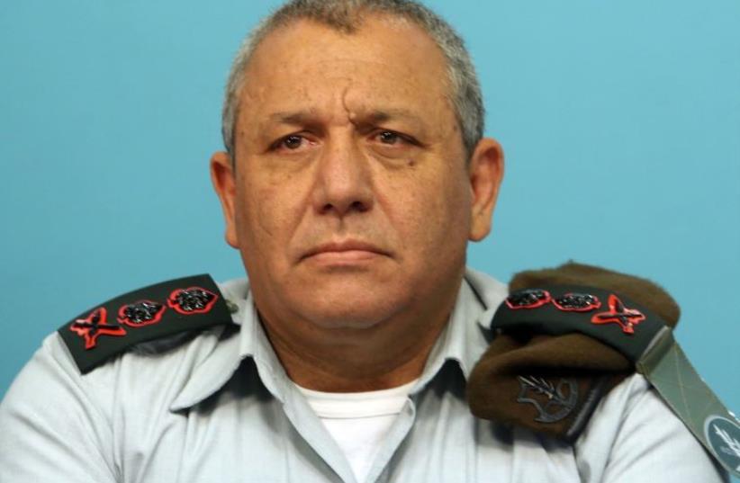 IDF chief of staff Lt.-Gen. Gadi Eisenkot  (photo credit: MARC ISRAEL SELLEM/THE JERUSALEM POST)