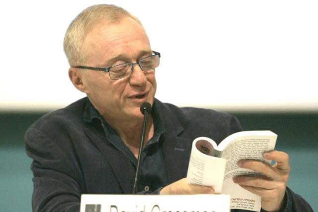 Novelist David Grossman (photo credit: REUTERS)