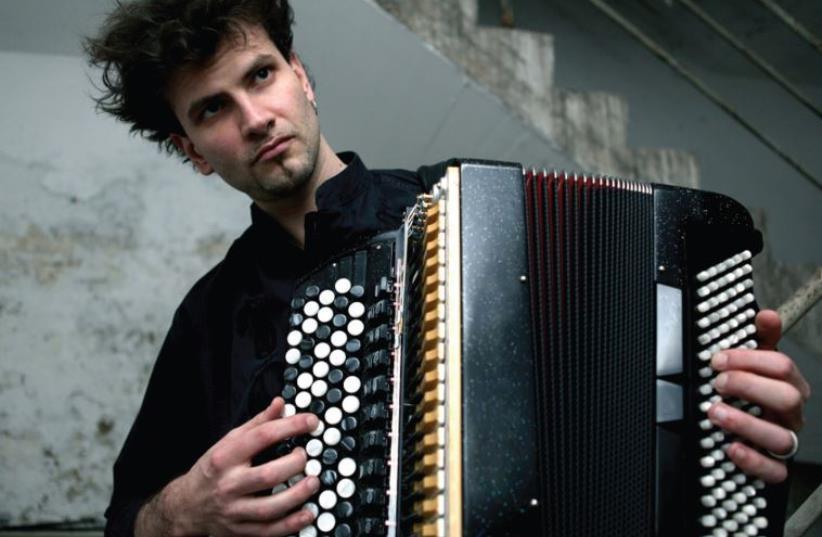 French accordionist Vincent Peirani (photo credit: DEAN BENICCI)