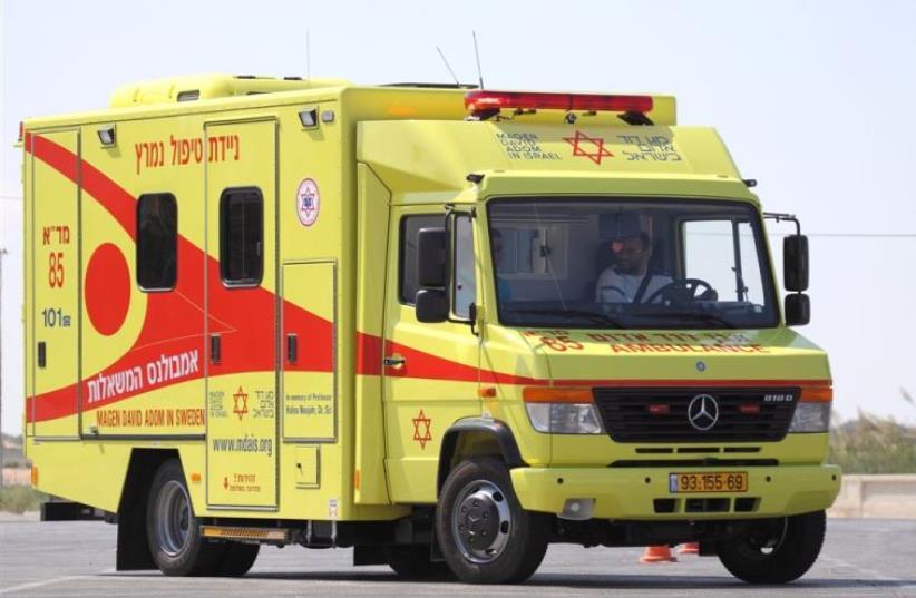 MDA's wishes ambulance (photo credit: WWW.MDAIS.ORG)