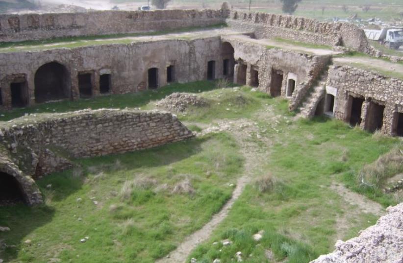 St. Elijah monastery in Mosul, Iraq  (photo credit: ARAB MEDIA)