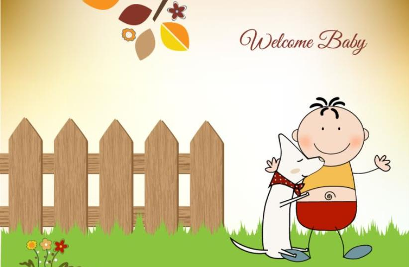 Baby greeting card (photo credit: INGIMAGE)