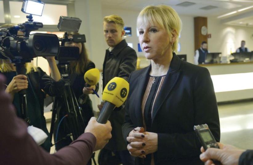 Margot Wallström (photo credit: REUTERS)