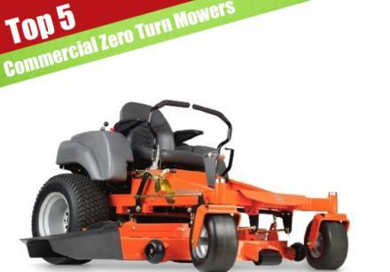 8 Best Commercial Zero Turn Mowers