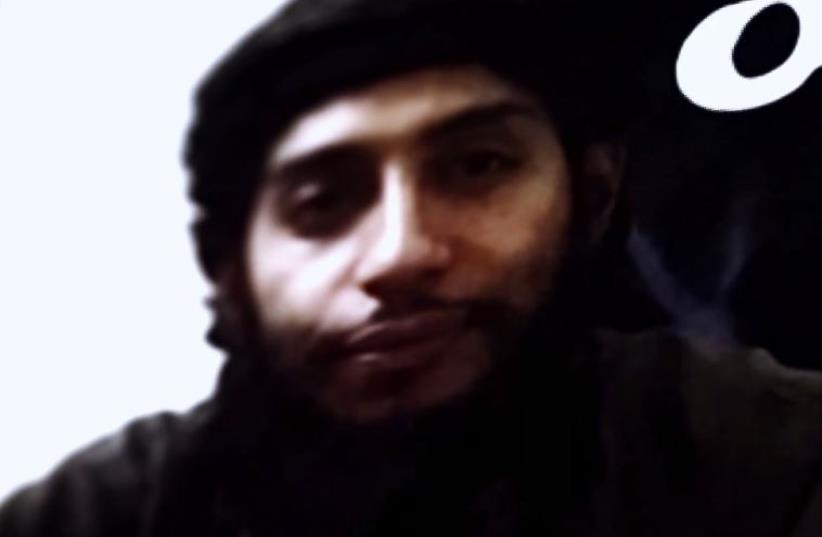 New ISIS video threatens Israel (photo credit: screenshot)