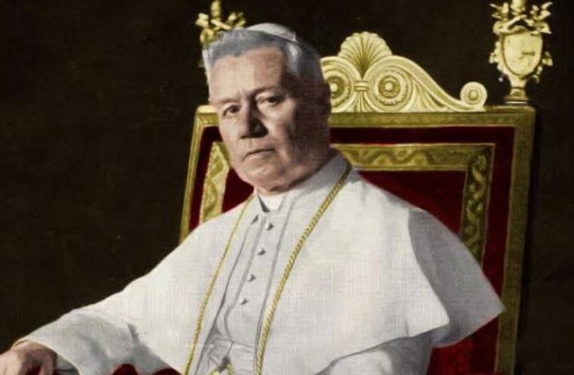Pope Pius X. (photo credit: Wikimedia Commons)